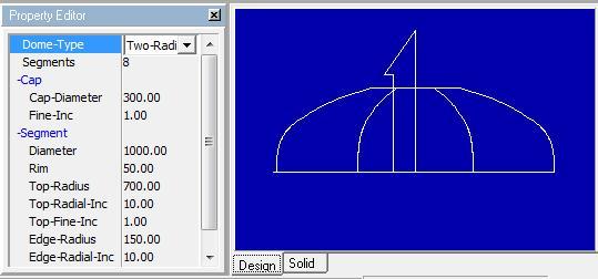 Sheet Metal Dome Design Softare